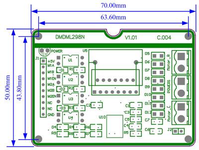 3,图片pictures: 4,资源resources: l298n电源驱动芯片数据手册&nbsp