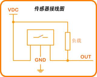 数字式红外测速仪电路接线图