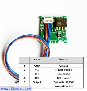 单轴角度传感器模组
