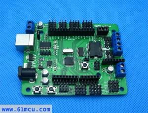 ATMEGA168单片机控制驱动板