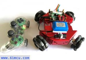 霹雳全向遥控机器人